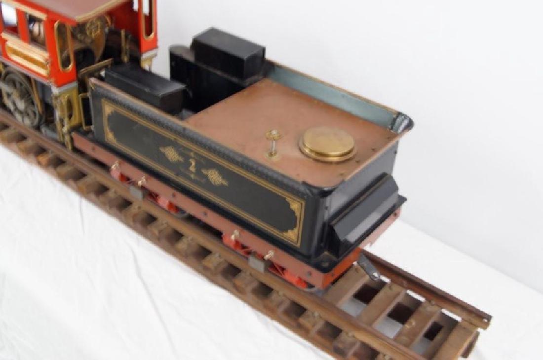 Live Steam OS 2-6-0 Porter locomotive - 3