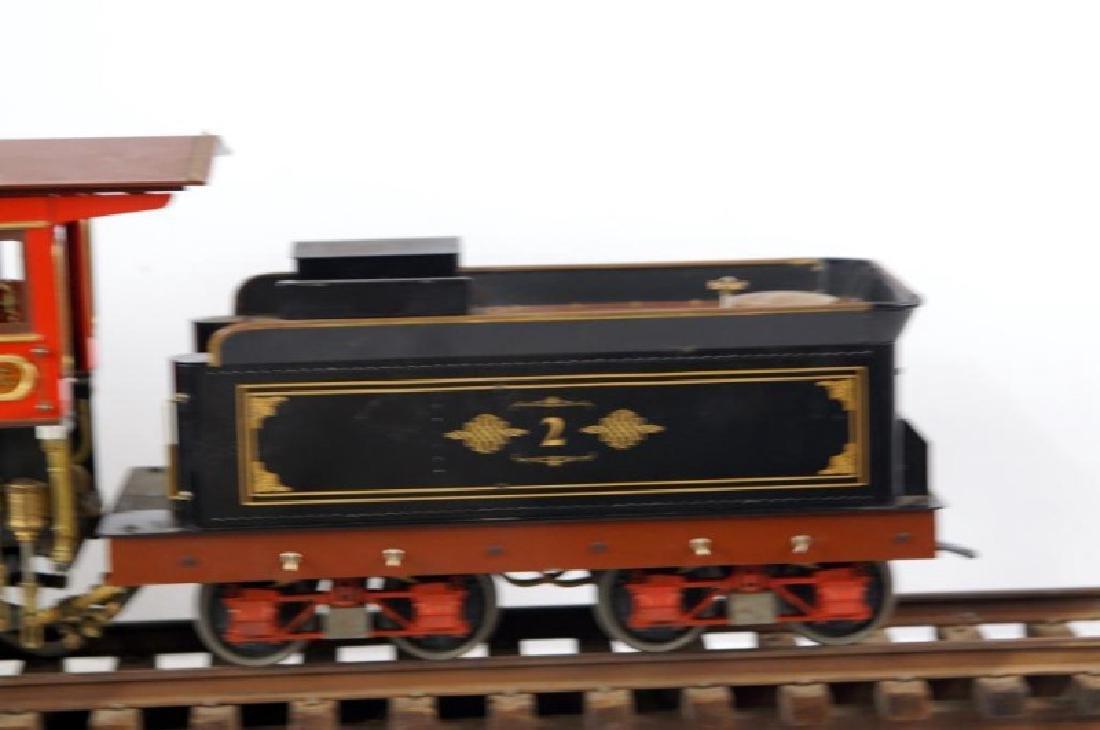 Live Steam OS 2-6-0 Porter locomotive - 6