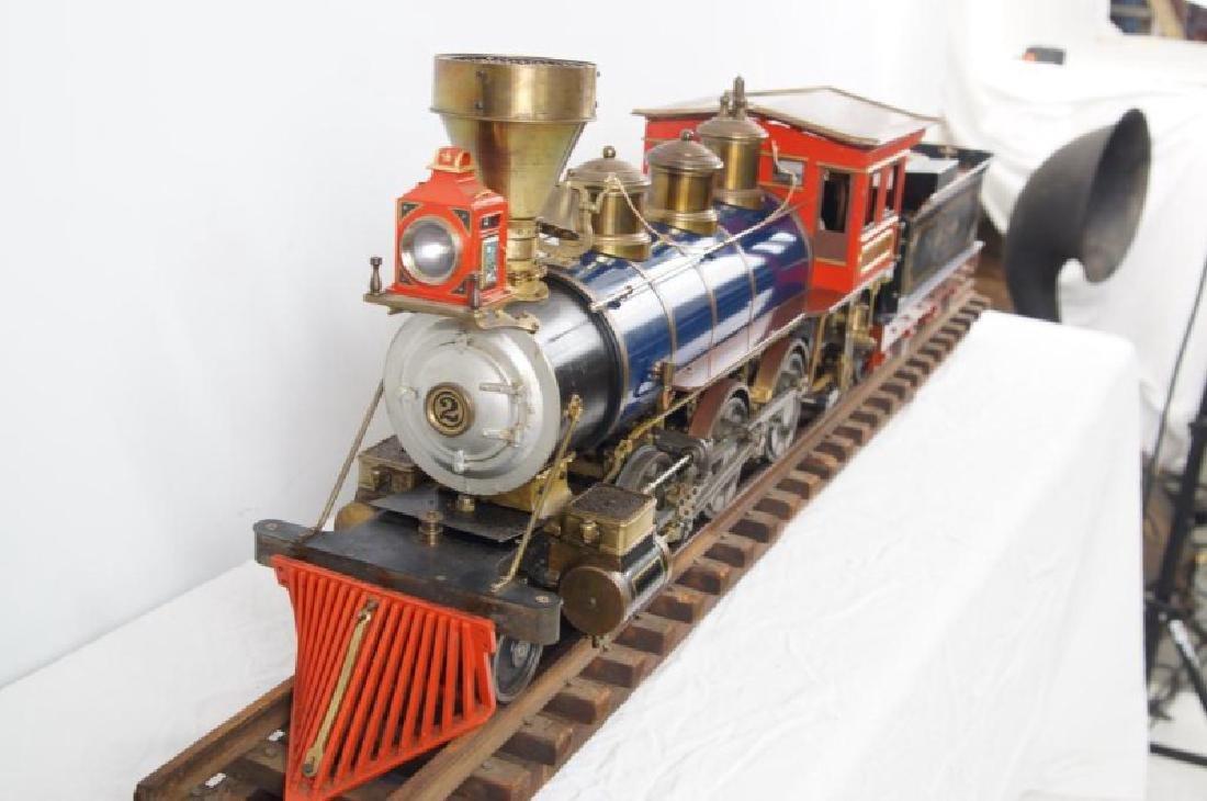 Live Steam OS 2-6-0 Porter locomotive - 7