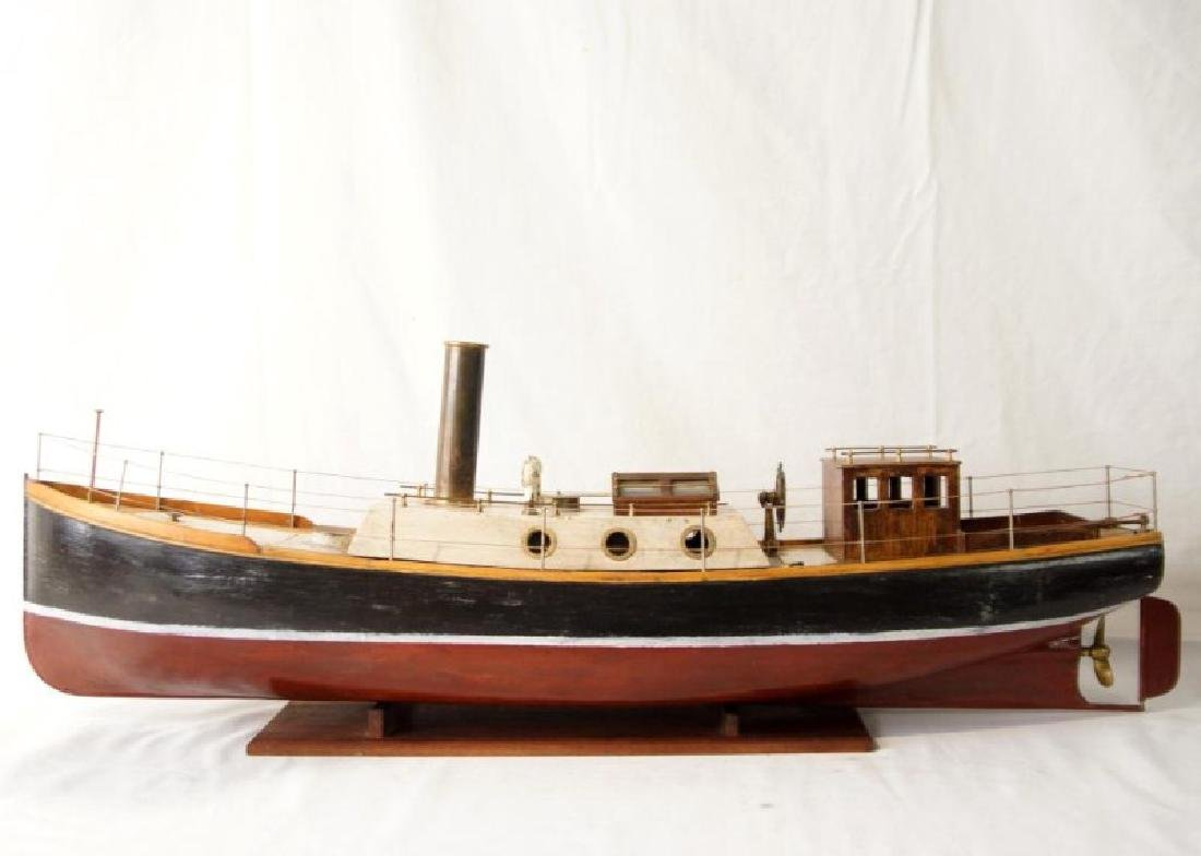 Steam working Ship model