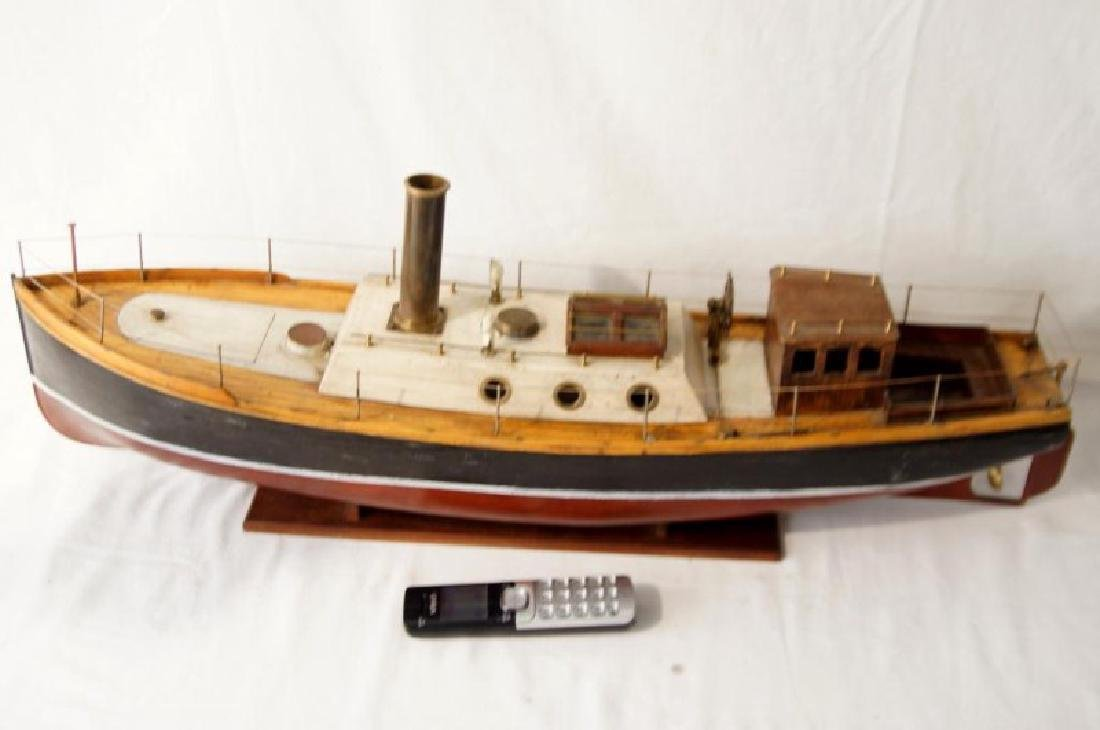Steam working Ship model - 3