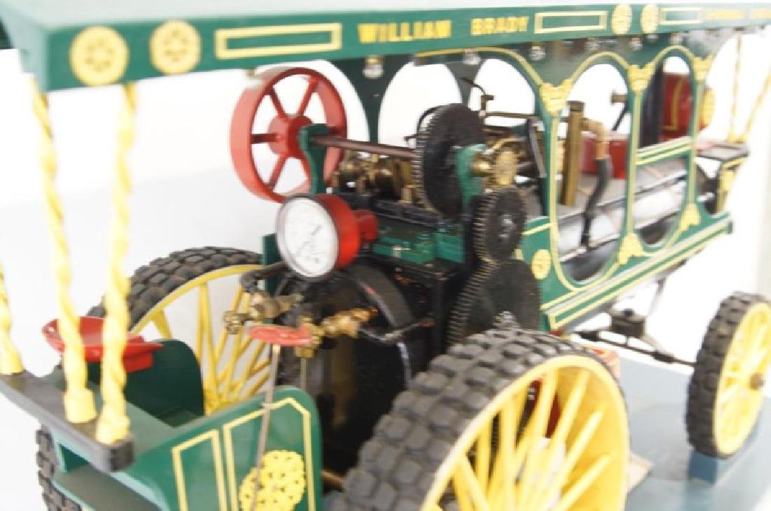 Live Steam William Brady Showman Model Traction engine - 4