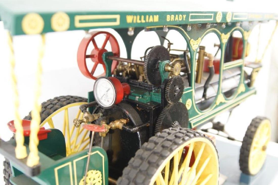Live Steam William Brady Showman Model Traction engine - 5