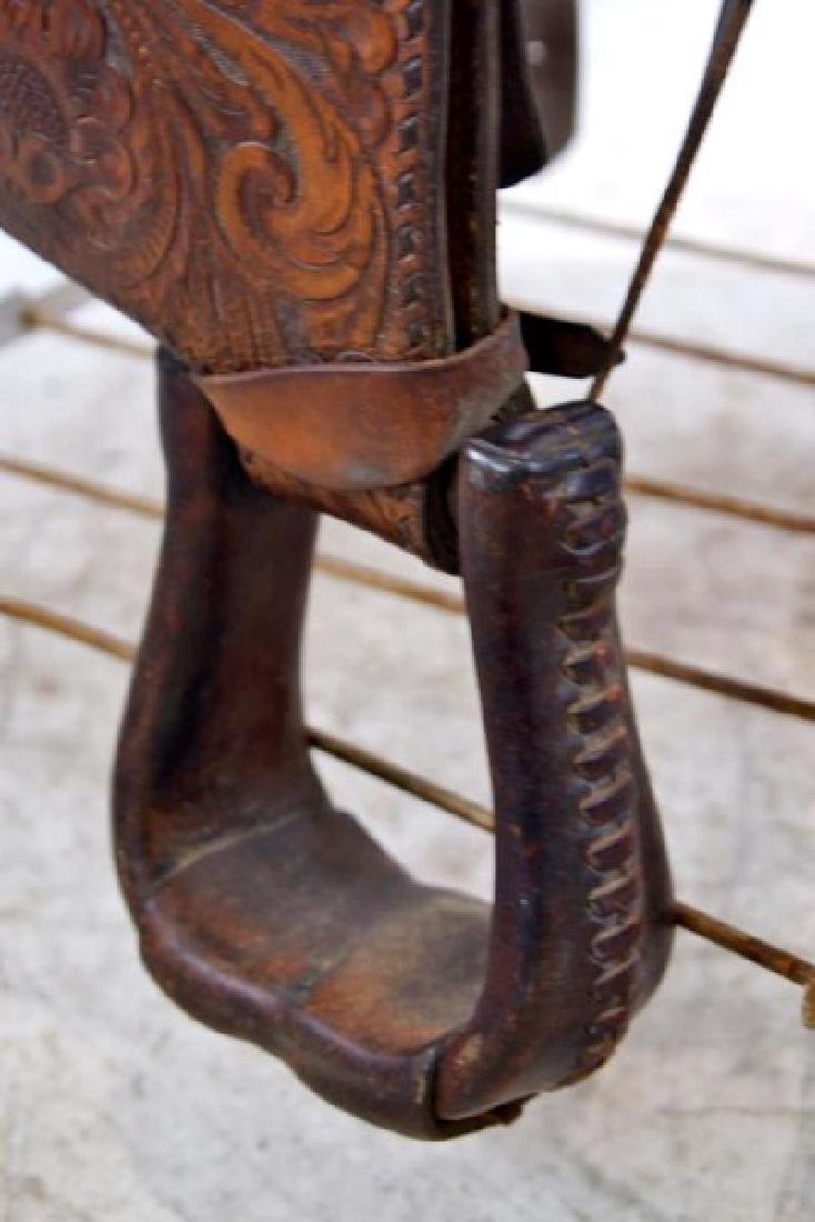 Rogers Saddlery Wilie Texas Western Saddle - 10