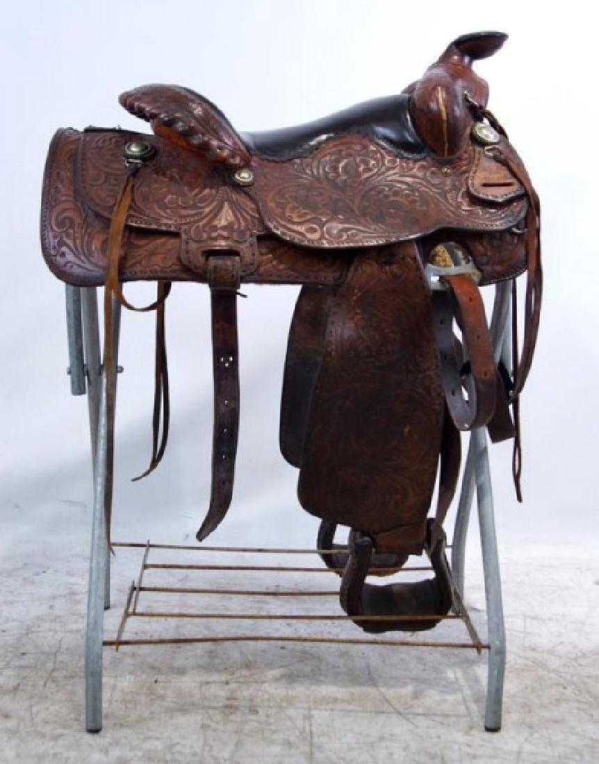 Rogers Saddlery Wilie Texas Western Saddle
