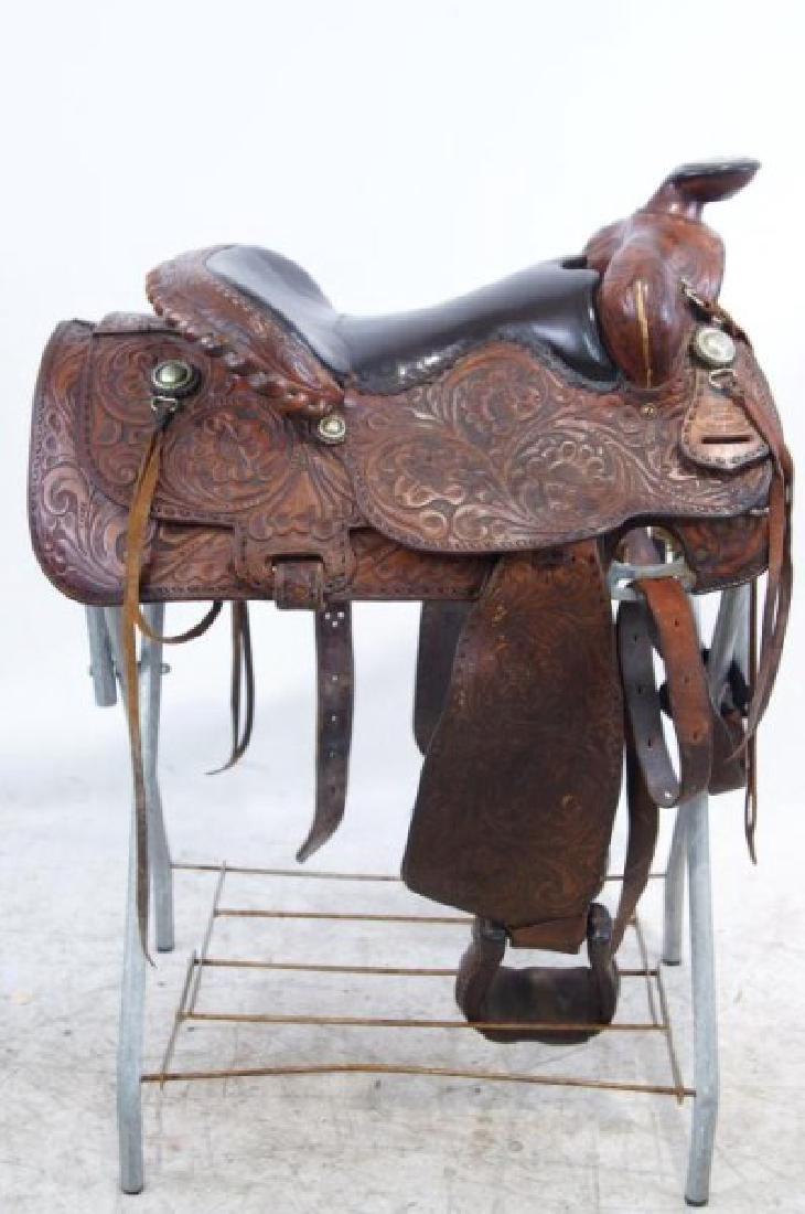 Rogers Saddlery Wilie Texas Western Saddle - 2