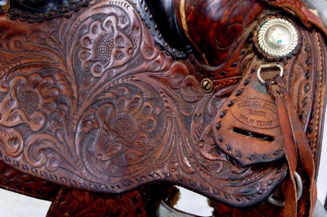 Rogers Saddlery Wilie Texas Western Saddle - 6