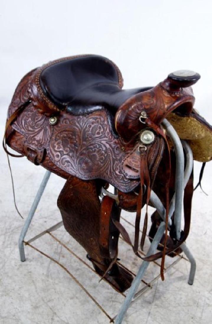 Rogers Saddlery Wilie Texas Western Saddle - 7