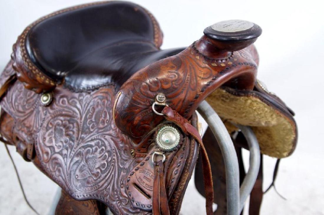 Rogers Saddlery Wilie Texas Western Saddle - 8