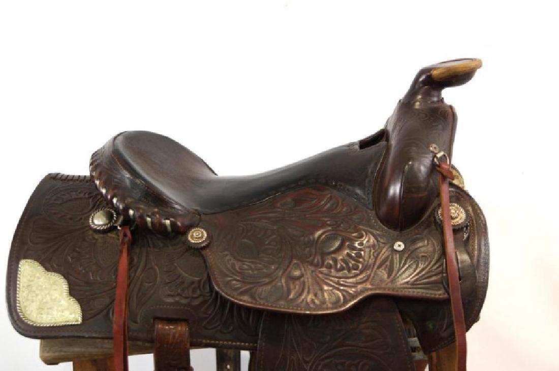 Ozark Leather Co. Waco Texas Western saddle