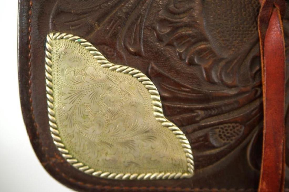 Ozark Leather Co. Waco Texas Western saddle - 4