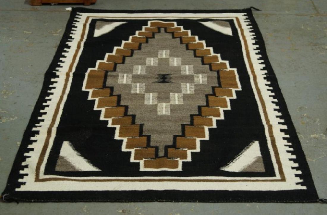 Navajo rug - Two Grey Hills - 2