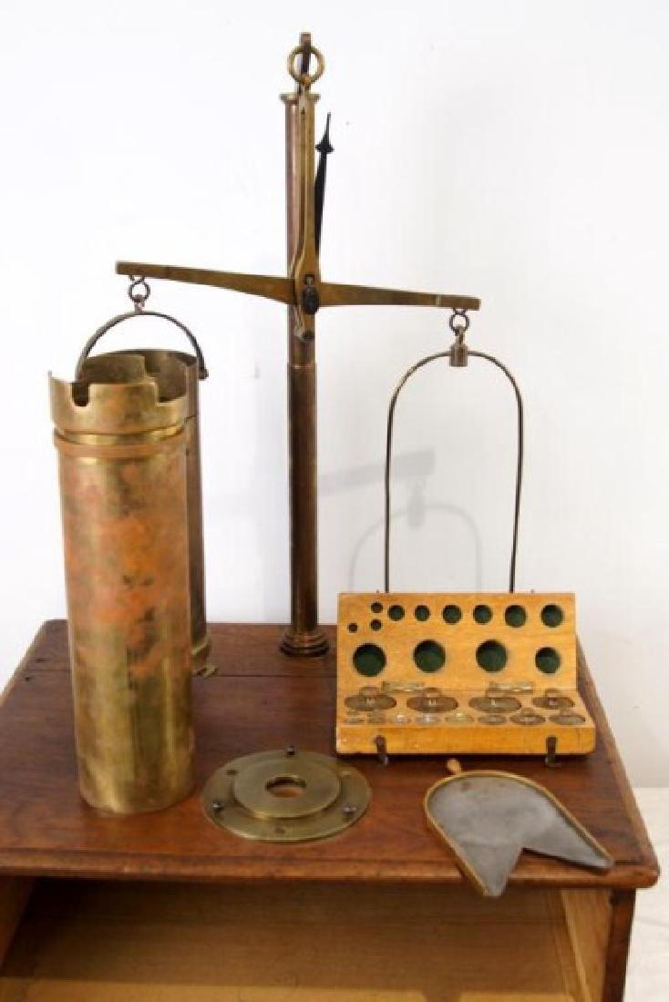 Antique Cylinder scale - 10