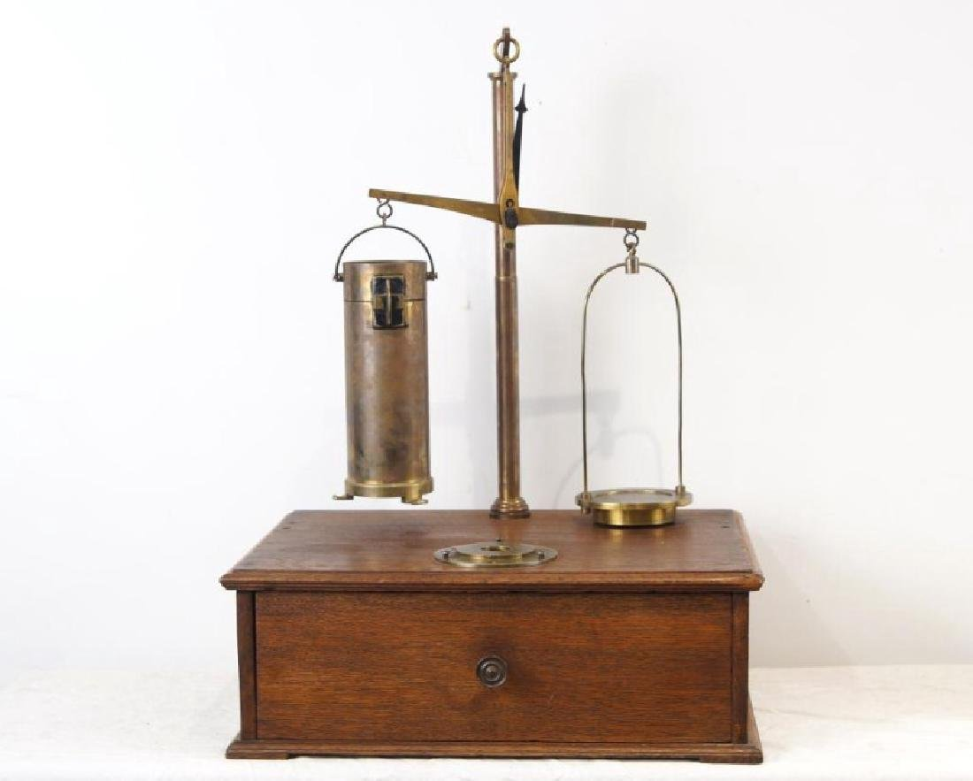 Antique Cylinder scale