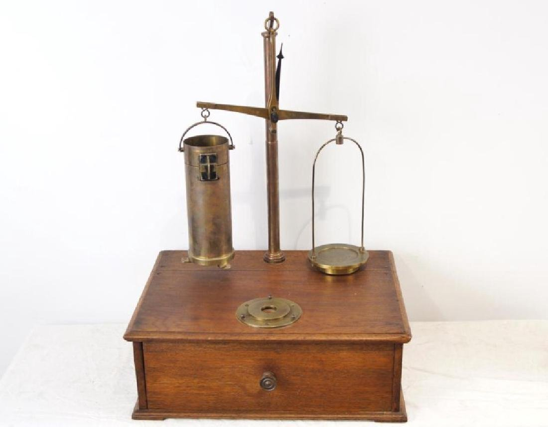 Antique Cylinder scale - 2