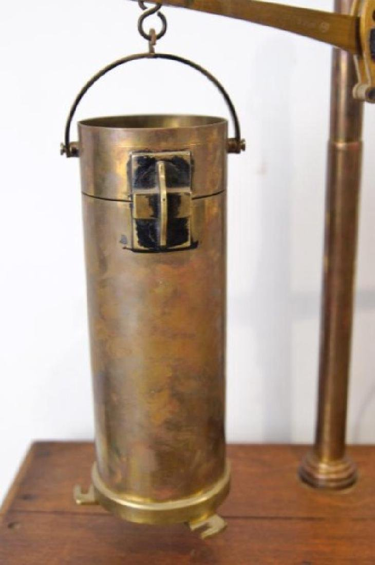 Antique Cylinder scale - 4