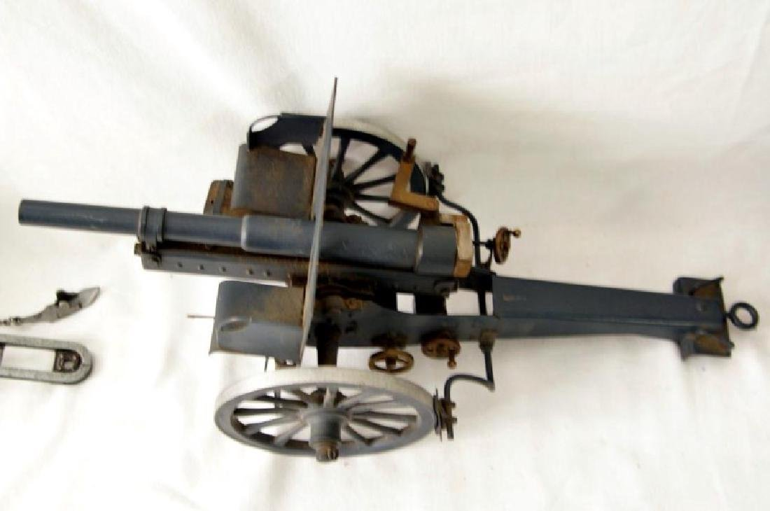 Three small Historic Cannon models - 10