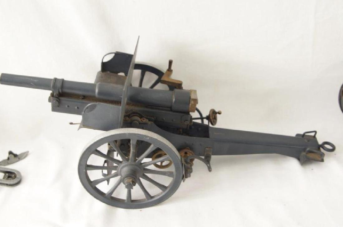 Three small Historic Cannon models - 3