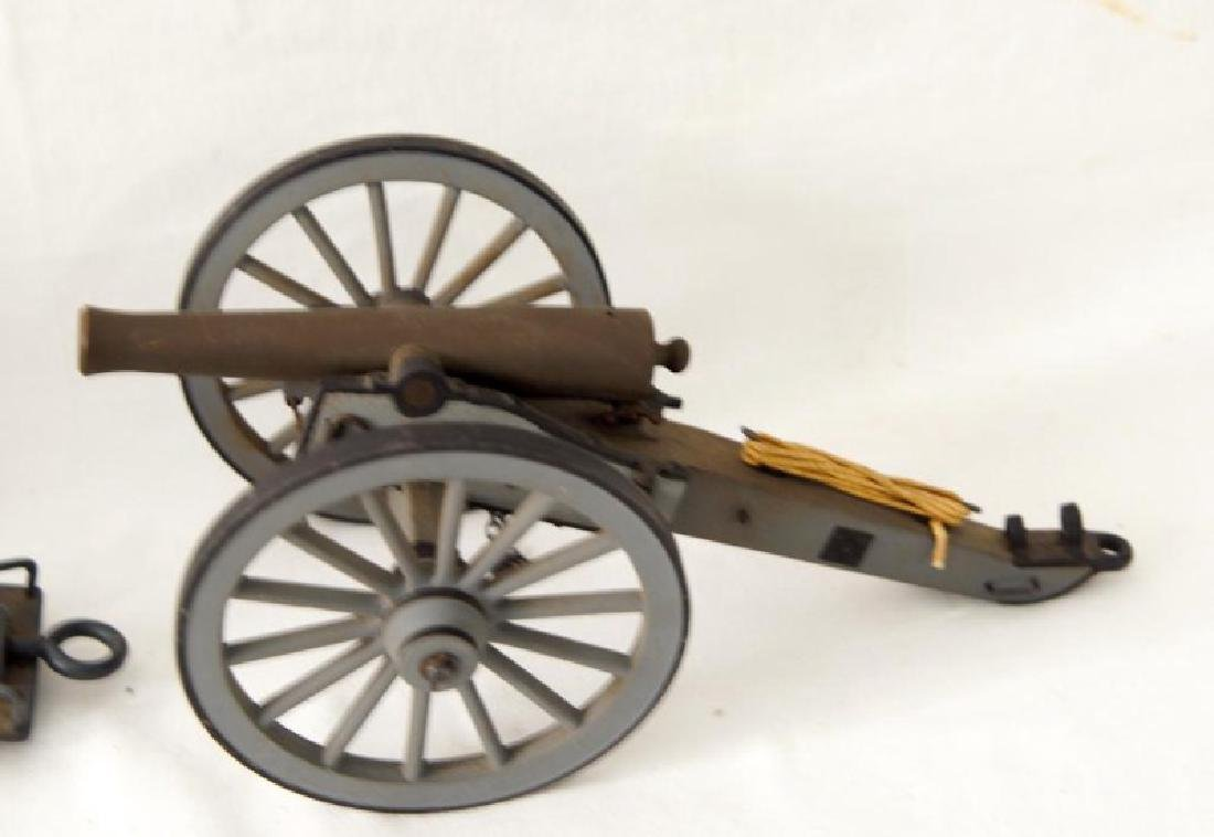 Three small Historic Cannon models - 4