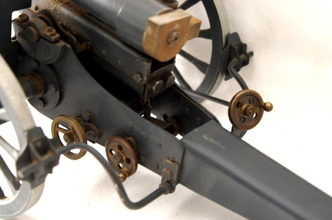 Three small Historic Cannon models - 5