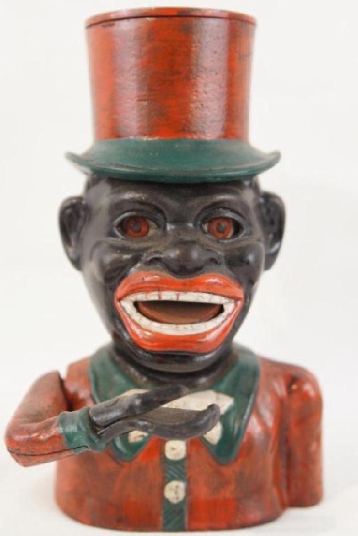 Cast iron bank - black memorabilia