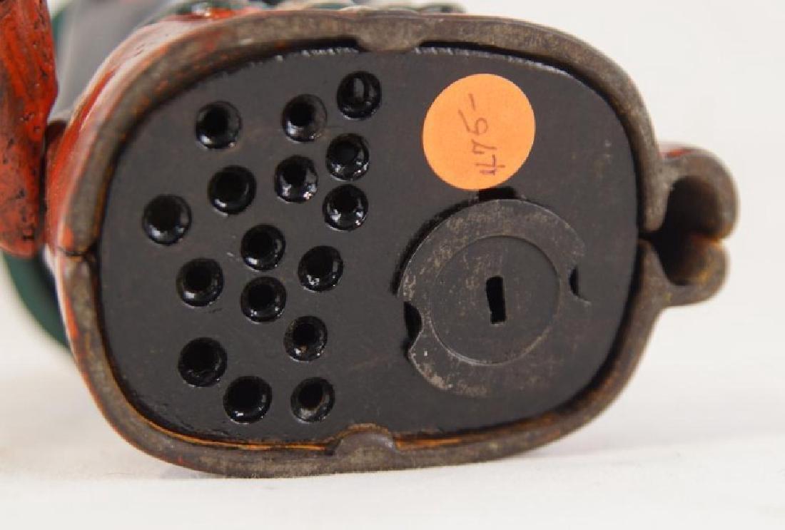 Cast iron bank - black memorabilia - 4