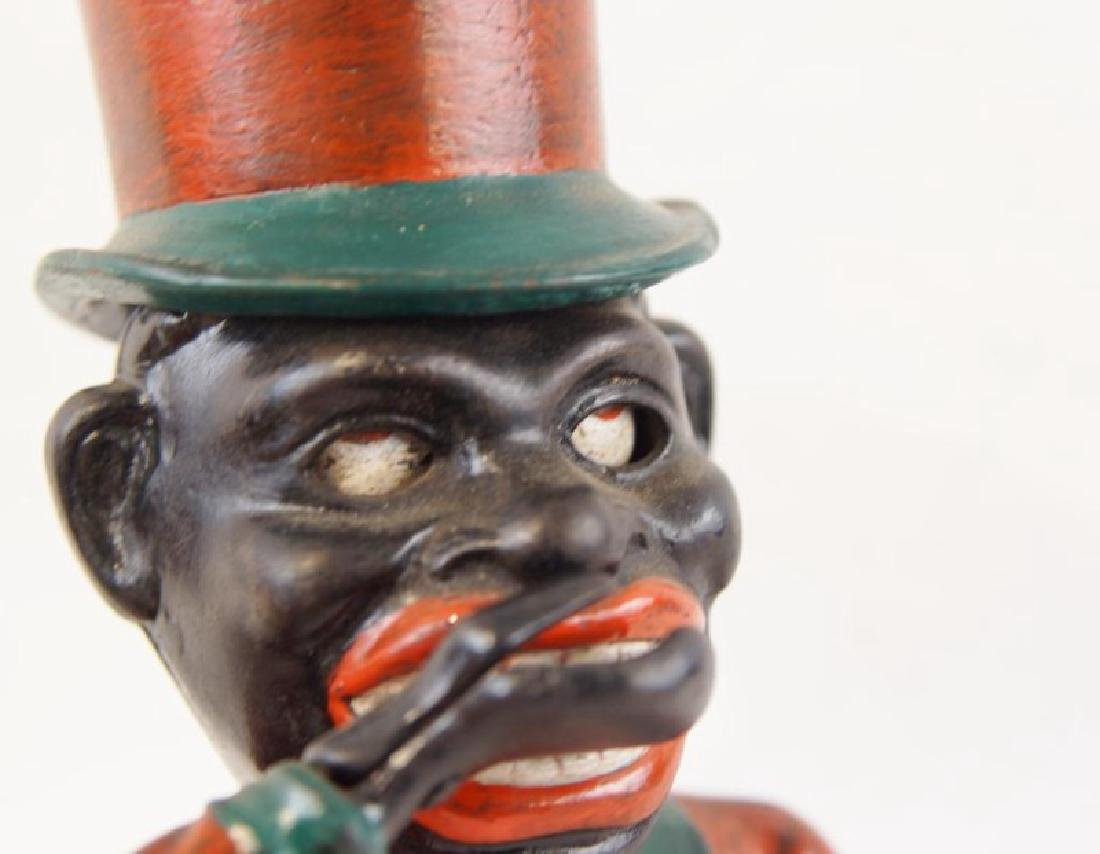 Cast iron bank - black memorabilia - 5
