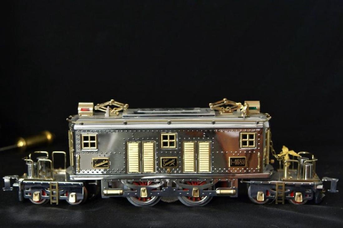 American Flyer Commander 2 tone chrome model train