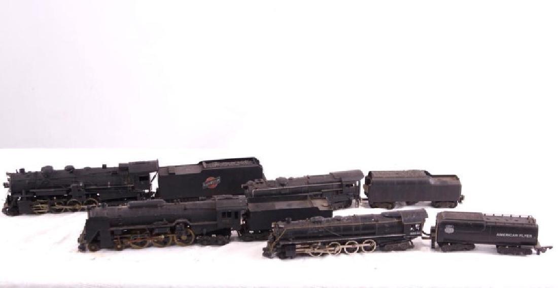 Lionel & American Flyer locomotive and tenders