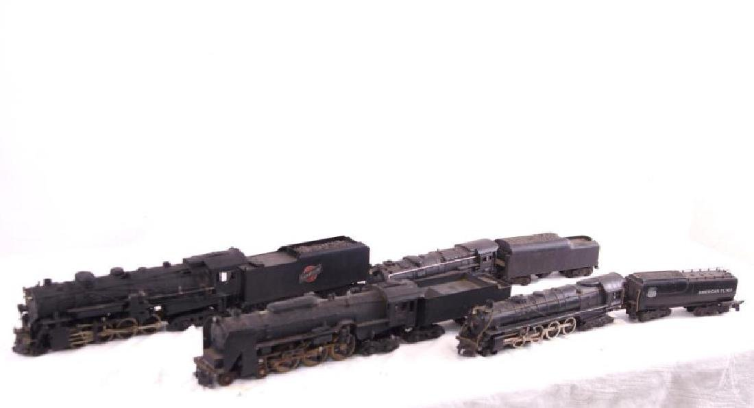 Lionel & American Flyer locomotive and tenders - 2