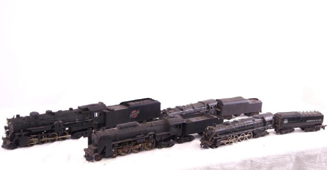 Lionel & American Flyer locomotive and tenders - 3