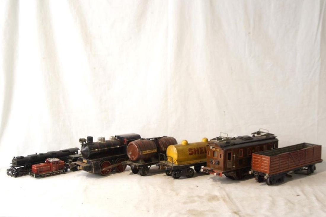 Collection of vintage German trains - 7 pcs