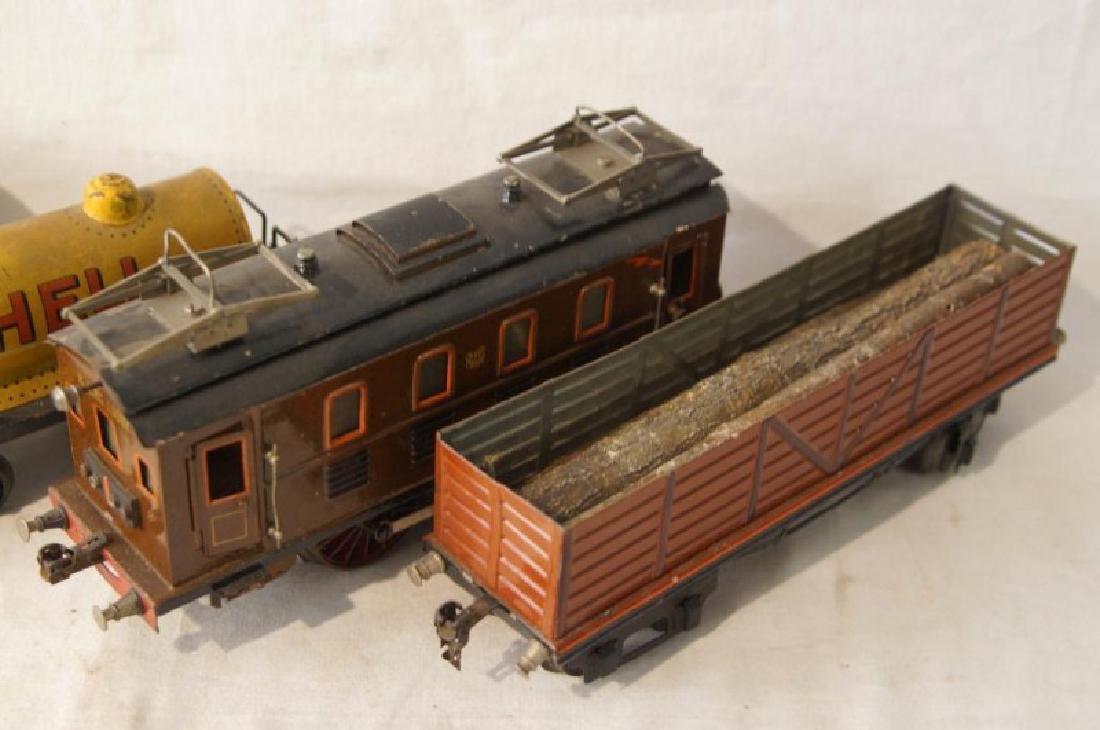 Collection of vintage German trains - 7 pcs - 2