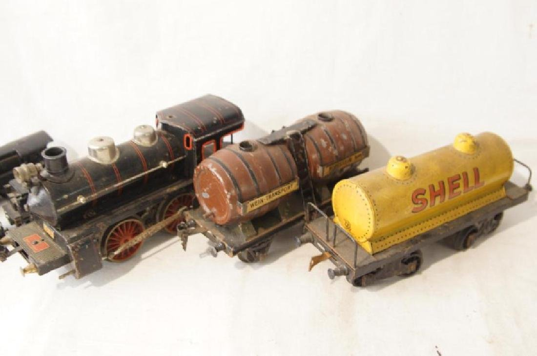 Collection of vintage German trains - 7 pcs - 4