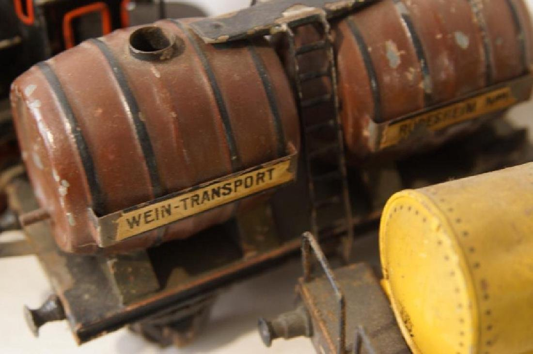 Collection of vintage German trains - 7 pcs - 6