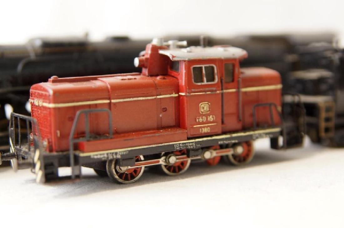 Collection of vintage German trains - 7 pcs - 7