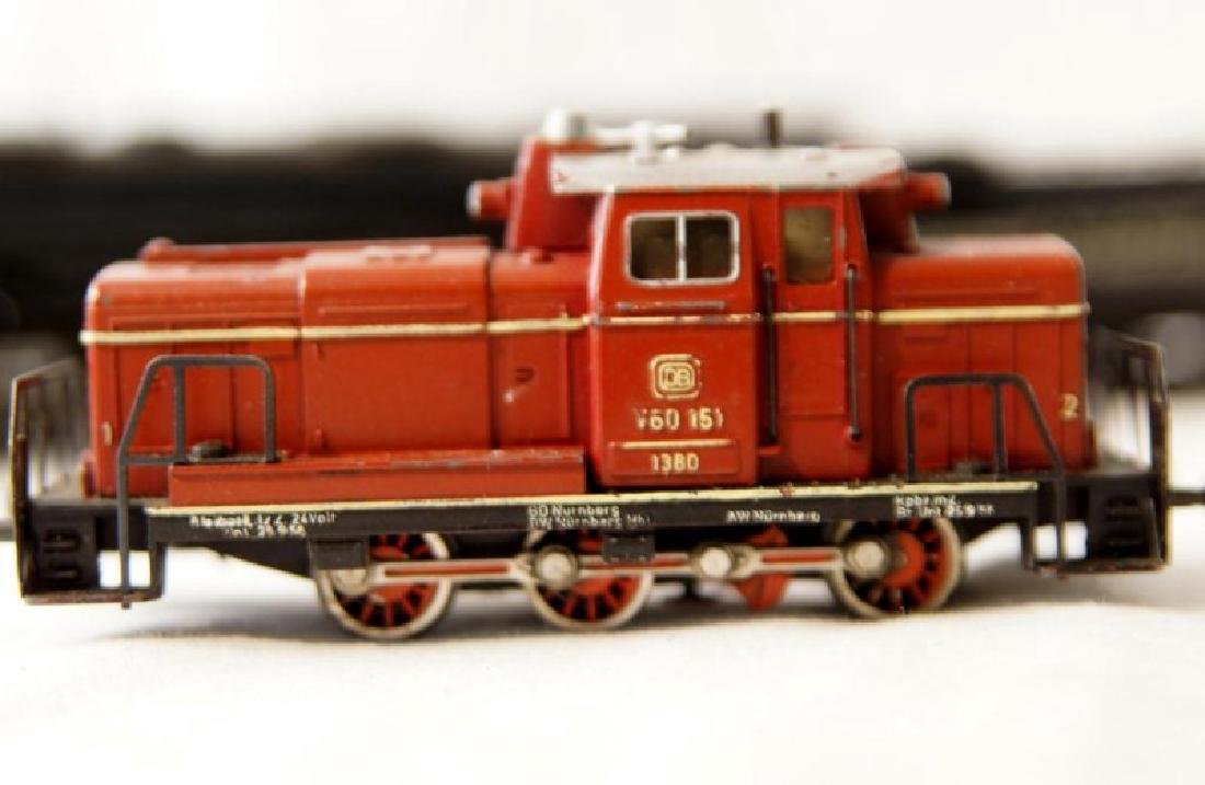 Collection of vintage German trains - 7 pcs - 8