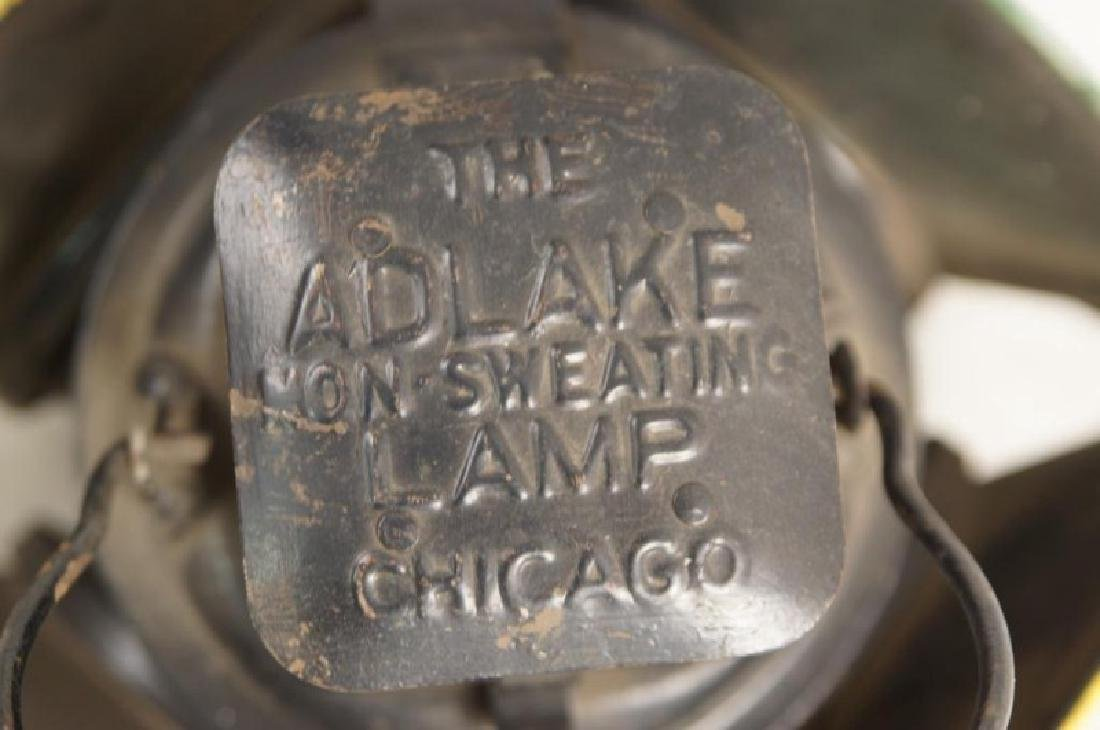 Antique railroad signal lantern - 4 light - 5
