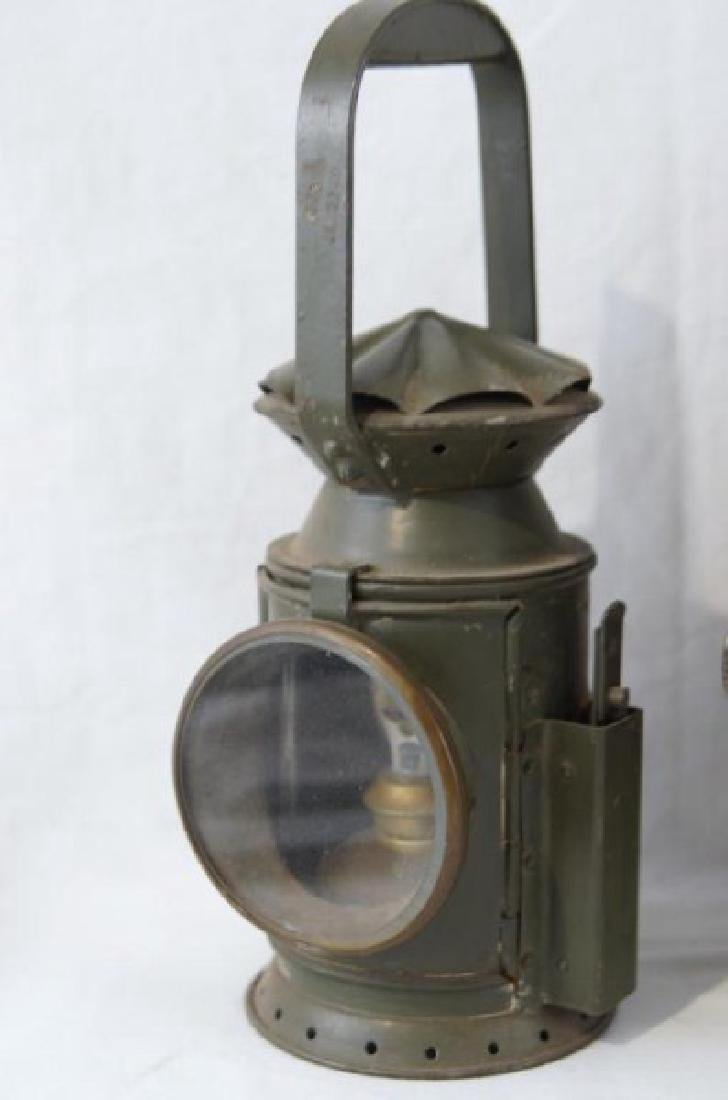 2 Antique Rail Raod Lanterns - 3