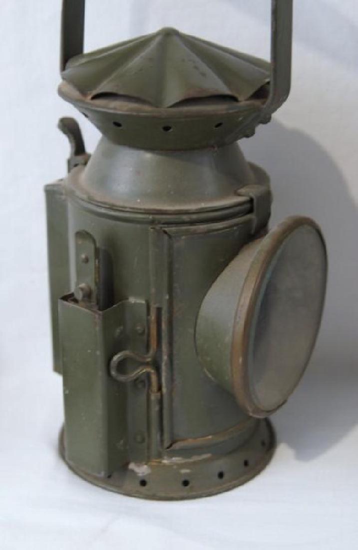 2 Antique Rail Raod Lanterns - 5