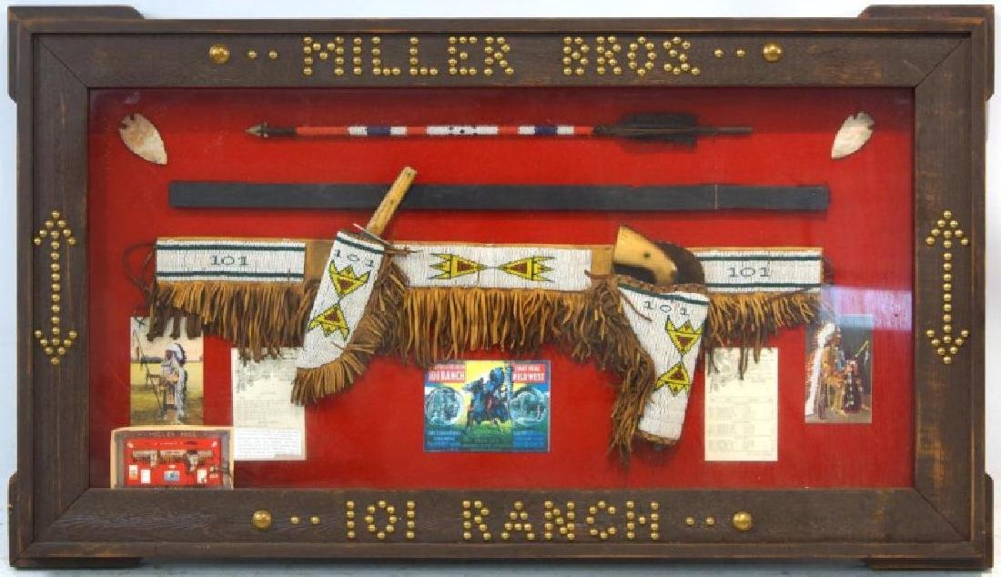 Miller Bros. 101 Ranch Native Am. presentation