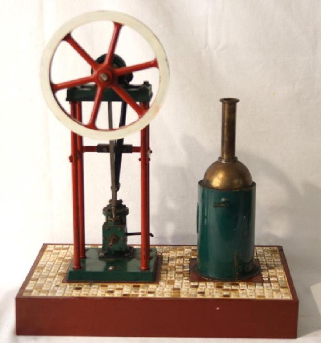 Live Steam Mechanical stationary engine