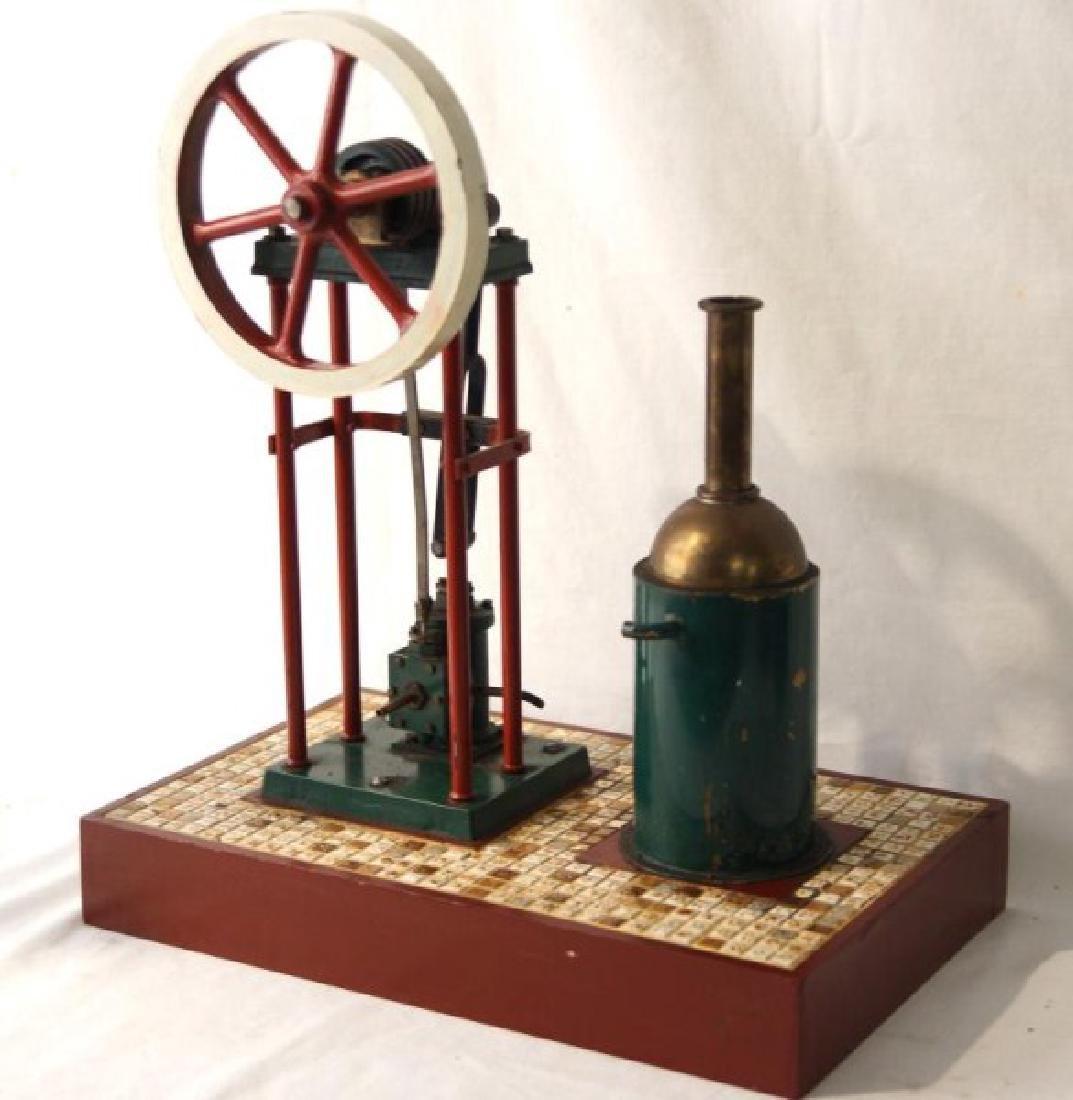 Live Steam Mechanical stationary engine - 2