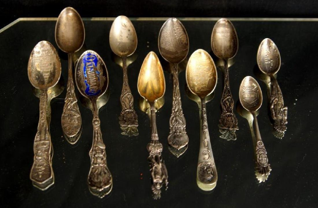 Sterling spoons - Indian Chiefs