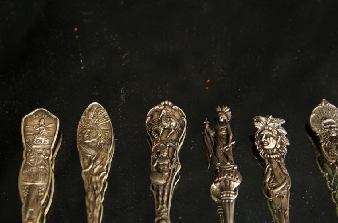 Sterling spoons - Indian Chiefs - 4