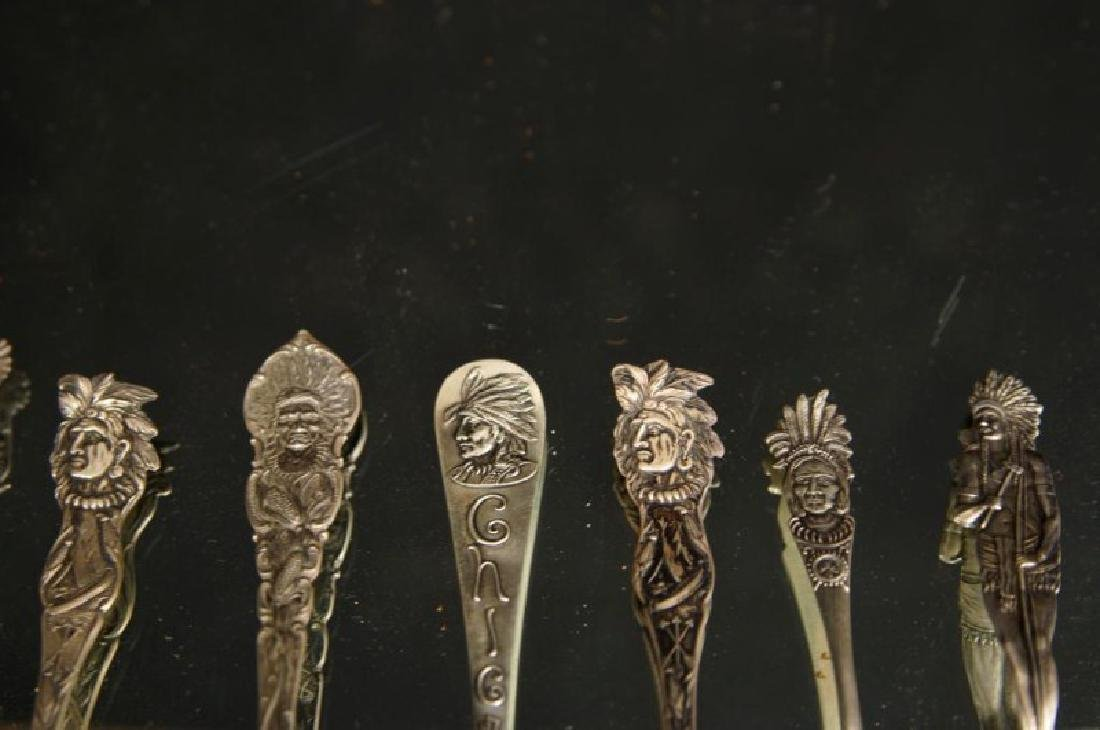 Sterling spoons - Indian Chiefs - 5