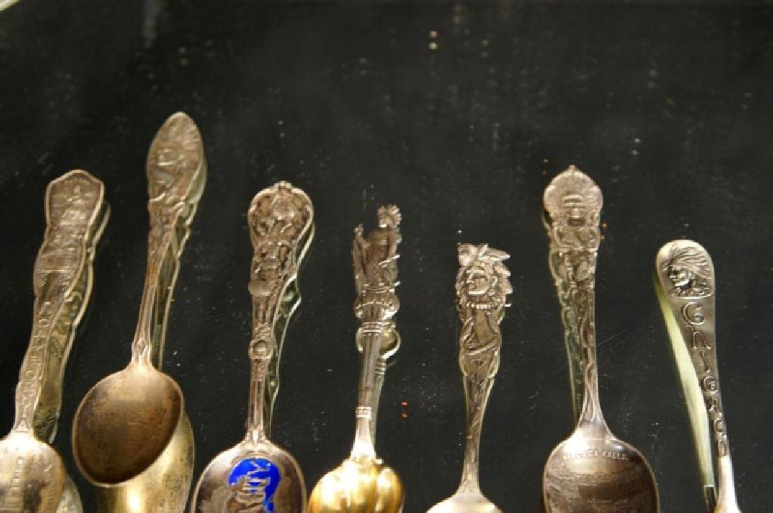 Sterling spoons - Indian Chiefs - 7