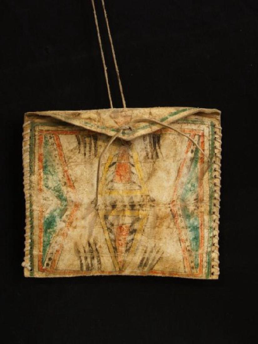 Native American Parflech bag w contents
