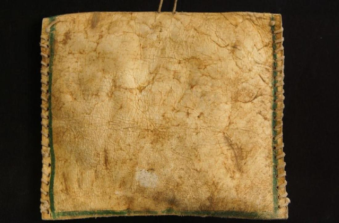 Native American Parflech bag w contents - 3