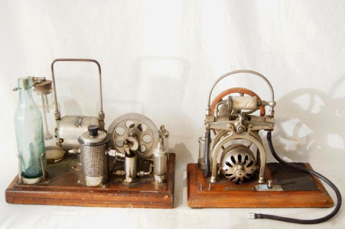 Two antique quack medical devices